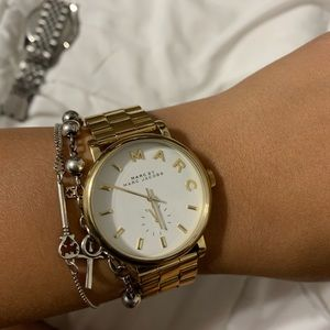 Marc jacobs watch gold tone new